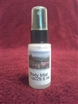 Black Ice Type Fragrant Body Mist
